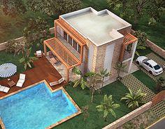 """Check out new work on my @Behance portfolio: """"villa design & render"""" http://be.net/gallery/53834933/villa-design-render"""