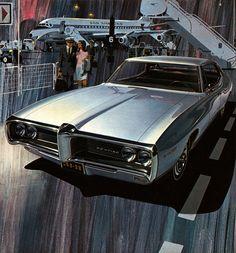 68 Pontiac Tempest Pontiac Lemans, Pontiac Bonneville, Pontiac Tempest, Car Illustration, Car Advertising, Car Posters, Ad Art, Car Drawings, Us Cars