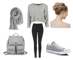 """""""Untitled #153"""" by saira-gzz ❤ liked on Polyvore featuring Topshop, Converse, Rebecca Minkoff and Calypso St. Barth"""