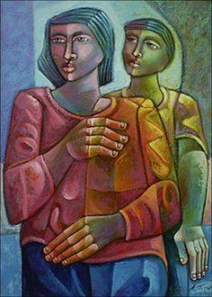 The Couple by Adelio Sarro