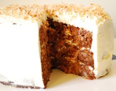 best carrot cake recipe in the entire world.