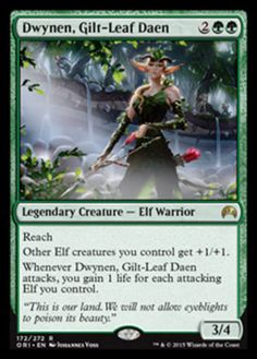 Dwynen-Gilt-Leaf-Daen-x4-Magic-the-Gathering-4x-Magic-Origins-mtg-card-lot