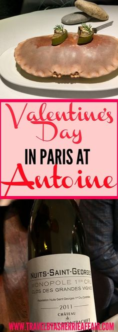 Restaurant review at the amazing Antoine Paris France.  Valentine's Day evening was spectacular and delicious!  Read all about our wonderful romantic dining experience !