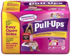 Huggies Pull Ups Cool Alert 2T-3T  Huggies Pull Ups Cool Alert helps your child stay dry because these training pants will make your child feel cool just seconds of being wet. #babygifts #babyshower #babygear #babyseats #diapers #nursery #strollers