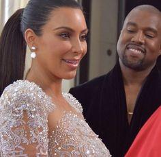 jennerwestings:  Kim and Kanye at the 2015 Met Gala.