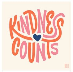 Kindness Counts/ quotes/ life motivation + Inspiration/ word up/ graphics/ art prints/ typography/ frienship Words Quotes, Me Quotes, Motivational Quotes, Inspirational Quotes, Crush Quotes, The Words, Cool Words, Kind Words, Pretty Words