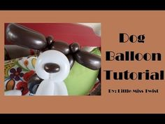 #8 Dog Balloon Tutorial - YouTube Balloon Sword, Balloon Dog, Balloon Animals, Balloon Arch, Its A Boy Balloons, Balloon Decorations, Balloon Ideas, Mask Party, Henna Patterns