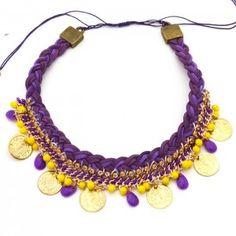Collar Monedas Egipcias | www.dulceecanto.com -