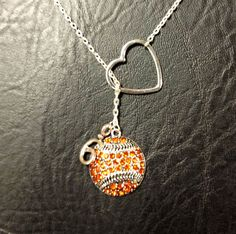 SF Giants Baseball Lariat Necklace with by MelissaMarieRussell