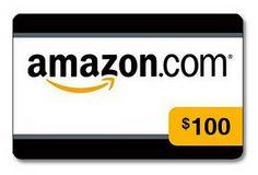 Amazon $100 Gift Card Giveaway.