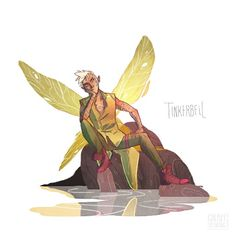 Male Tinkerbell......I kinda love it!