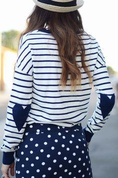 polka dots, stripes & hearts