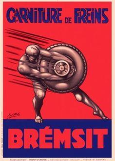 garniture de freins Bremsit - 1929 - (Mohr) -
