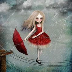 Image result for tightrope walker painting