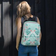 This medium size backpack is just what you need for daily use or sports activities! The pockets (including one for your laptop) give plenty of room for all your necessities, while the water-resistant material will protect them from the weather. Cream Backpacks, Fun Fly, Pink Camouflage, Sports Activities, Disney Inspired, Indie Brands, Best Brand, Leather Backpack, Fashion Backpack
