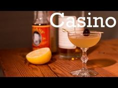 Casino cocktail from Better Cocktails at Home - http://coolcocktails.net/casino-cocktail-from-better-cocktails-at-home/