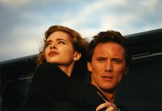 "Adrienne Shelly and Robert Burke in ""The Unbelievable Truth"""
