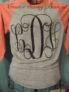 Hi There Thank You For Viewing The Monogrammed Preps Decals You - Glitter custom vinyl decals for shirts