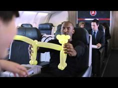 Kobe Bryant and Lionel Messi for Turkish Airlines    www.turkishairlines.com