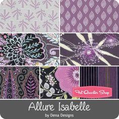 Allure Isabelle by Dena Designs for Free Spirit Fabrics - December 2016