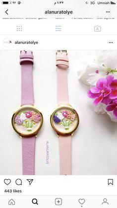 Denim Bracelet, Bracelets, Hand Embroidery, Bracelet Watch, Anniversary, Knitting, Crafts, Accessories, Jewelry