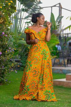 Latest African Fashion Dresses, African Dresses For Women, African Attire, Ankara Maxi Dress, Beautiful Long Dresses, Simple Summer Dresses, Kente Styles, Africa Fashion, Album