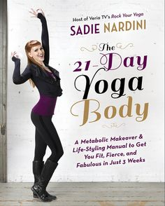 Nardini outlines 21 days of yoga practice along with various nutritional plans to fuel up your poses. But she also admits to losing her cool in noisy cafes, overdoing it on wine, and Instagraming her steak dinner (#foodporn), and what comes across is her total humanity. Which is important, because if you're going to launch into a yoga practice, you want someone that's funny, compassionate, and, above all, human cheering you on.