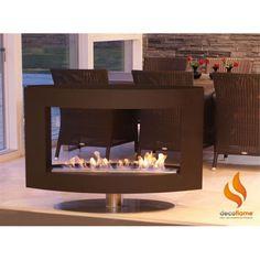 Decoflame Maine bio fireplace @ inamus.com - The biggest fireplace catalog in the world. #fireplace
