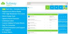 Subway – Flat Metro phpBB 3.1 & 3.2 Theme | Free and Premium Themes - Templates