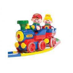 Tolo Set Treno  Trenino Tolo  robusto, colorato e resistente è un giocattolo adattato per bambini che necessitano di sensori per inteagire con i loro giochi.