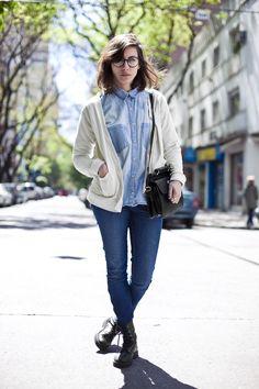 OTC - BUENOS AIRES STREET STYLE: Iliana, 26 años, estudiante de bellas artes