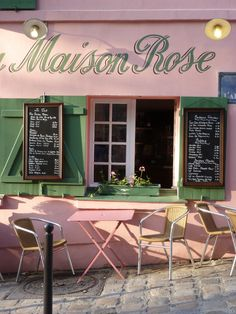 La Maison Rose in Paris
