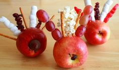 Turkey Apples: A Fun Thanksgiving Snack for the Kids
