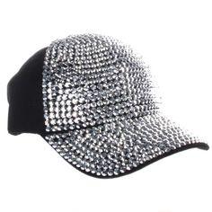 Many colors to choose! Crystal Case Fully Studded Rhinestone Adjustable Cotton Baseball Cap Hat (Black) Crystal Case http://www.amazon.com/dp/B00IZPXIDS/ref=cm_sw_r_pi_dp_-8woub0DBZCV1