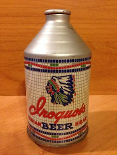 Iroquois Indian Head Beer Iroquois Beverage Corp. Buffalo, NY 195-30