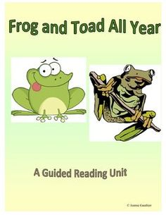 This guided reading unit covers all 5 stories found in Frog and Toad All Year - Down the Hill, The Corner, Ice Cream, The Surprise and Christmas Eve. Includes everything you need for guided reading: lesson plans, questions for before during and after reading, and follow-up reader response worksheets.