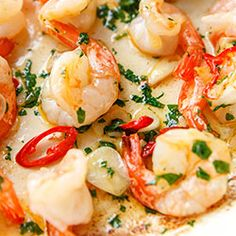 Scampi, Ciabatta, Potato Salad, Potatoes, Chili, Ethnic Recipes, Lower Belly, Food, Instagram