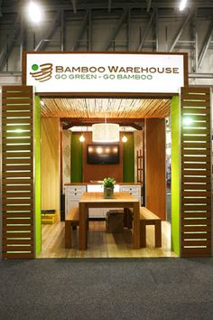 Bamboo Warehouse stand