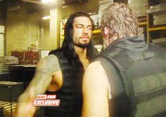 easy tiger :) though you are so hot when your mad Roman Reighns, Renee Young Wwe, Roman Reigns Gif, Wwe Gifs, Roman Reigns Dean Ambrose, Wwe Superstar Roman Reigns, Brother From Another Mother, The Shield Wwe, Roman Warriors