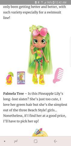 Shoppie Doll Palmela Tree