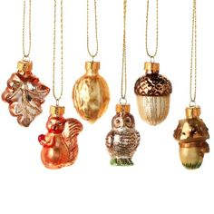 {Woodlands Ornament} I have these; love hoe old fashioned they look