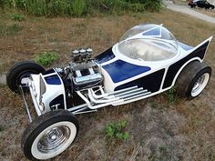 1962 Ed Roth Style Bubbletop Show Rod Hot Rod