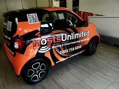 Hosts Unlimited went for a bold #orange to help them #standout... we love it!