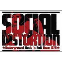 Social Distortion- Underground Rock 'N' Roll magnet