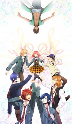 {}Uta No Prince Sama{} It is good but not my favorite but it has really good music. Rate: 8:10