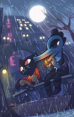 pehesse: Best (available) Friends Turns out I got a little more Night in the Woods to get out of my system so I hope youll like it! Video Game Art, Video Games, Mae Borowski, Night In The Wood, Wood Games, Mood Colors, Wood Wallpaper, Cartoon Games, Fan Art