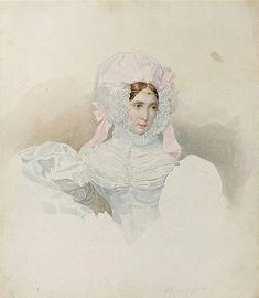 Татьяна Борисовна Потемкина (1797-1869), ур. Голицына 1830-е