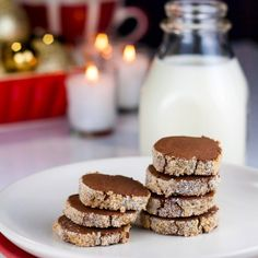 Sugary Chocolate Sable Cookies (Gluten-Free)