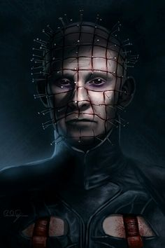 Pinhead from Hellraiser.