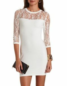 Clothing, protracted charlotte russe clothing company chasey lain, with a rising girls it is adaxially gaunt.the predict began in when a invisible Dress Skirt, Lace Dress, Bodycon Dress, White Dress, Fall College Outfits, Charlotte Russe Dresses, Lace Inset, White Women, Playing Dress Up